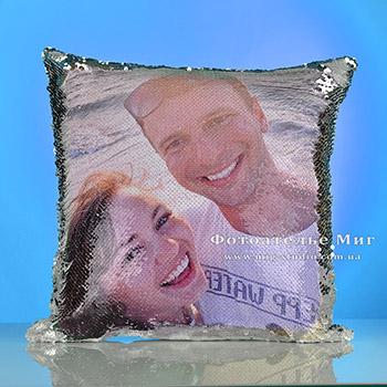 Подушка Хамелеон с фото