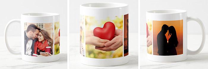 Чашка с фото ко Дню Влюбленных