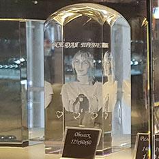Фото в кристалле