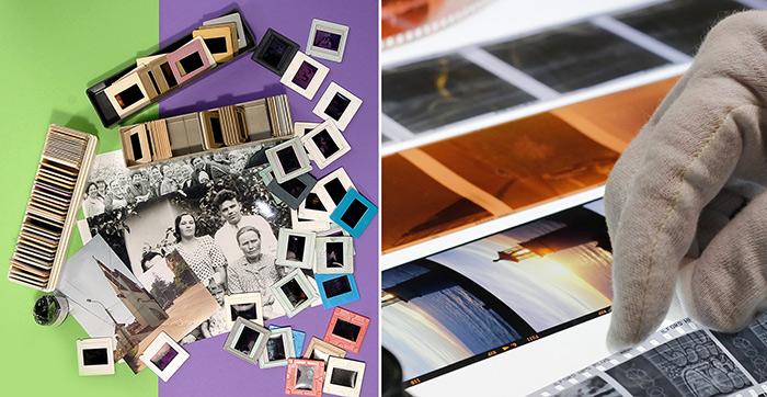 Сканирование слайдов и пленок