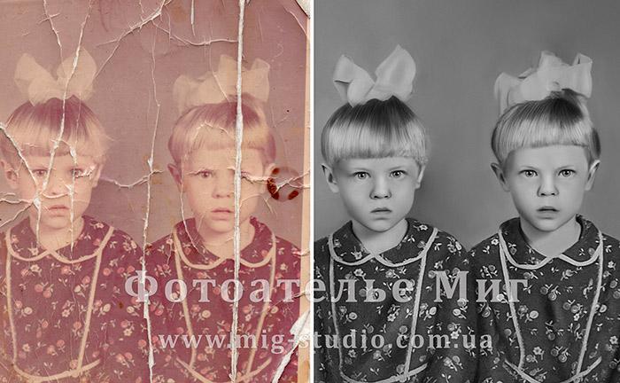 Реставрация фотографии киев